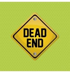 Road sign design vector image