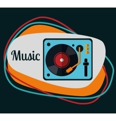 Music icons design vector