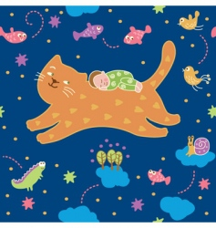 Lullaby pattern vector