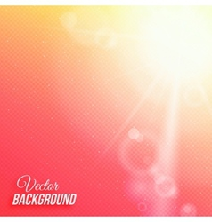 abstract background with sun and transparent grid vector image vector image