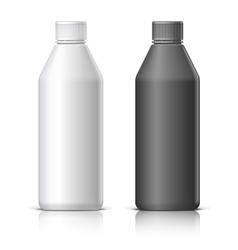 Big plastic bottle vector image vector image