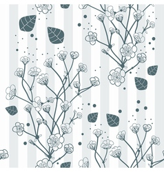 Seamless natural background vector