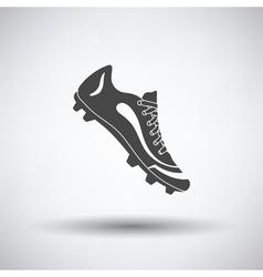 American football boot icon vector