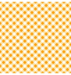 Autumn gingham seamless pattern vector