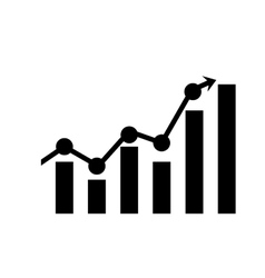 Business growing up vector image