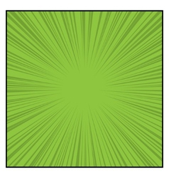 Comics Color Radial Speed Lines graphic effects vector image vector image