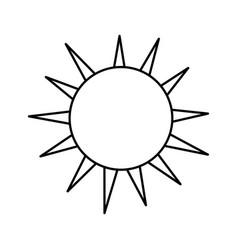 Line nice light sun image vector