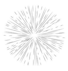 star burst element vector image vector image