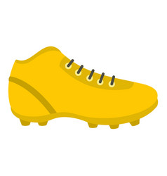 Football or soccer shoe icon isolated vector