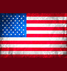 American grunge flag grunge for a background of a vector