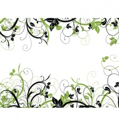 floral chaos vector image
