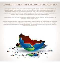 Apocalyptic background vector