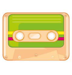 Cassette for tape-recorder vector