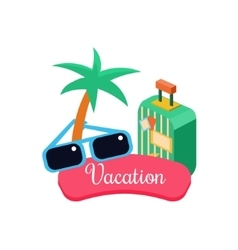 Exotic Vacation vector image vector image
