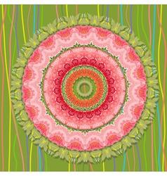 Khokhloma abstract vector image