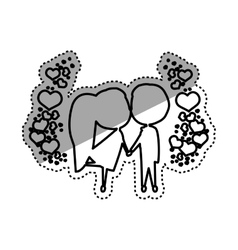 Love and romanticism vector