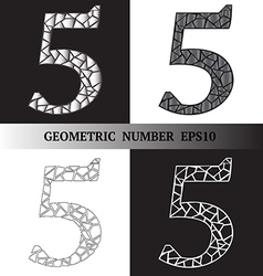 Five geometric vector