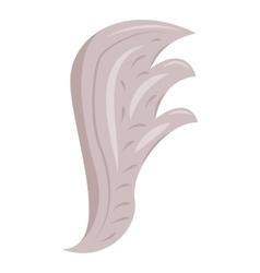 Bird wing icon cartoon style vector