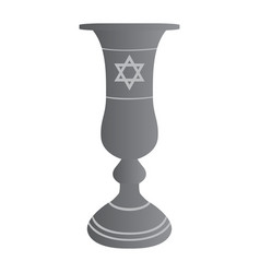 isolated jew cup vector image