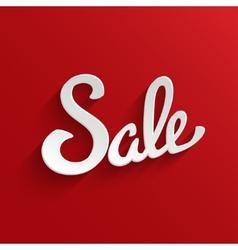 Sale Design Template Background vector image