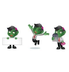 Zombie 1 vector image