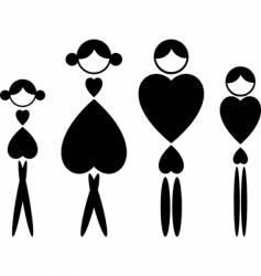 beauty symbol vector image