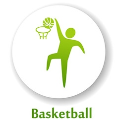 Basketballb vector