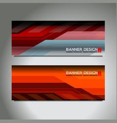 Tech web banner vector