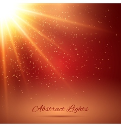 Abstract sunlight background vector
