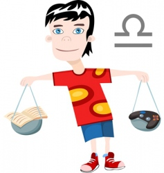 Boy scale vector