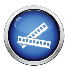 Computer memory icon vector