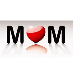love mum vector image