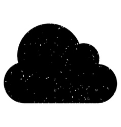 Cloud grainy texture icon vector