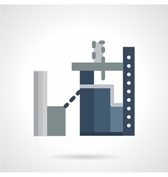 Industrial architecture flat icon vector