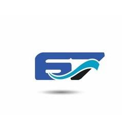 67th year anniversary design logo vector