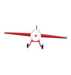 small plane vector image