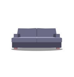 sofa for modern living room reception or lounge vector image