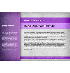Template purple vector