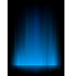 Blue Aurora Background vector image vector image