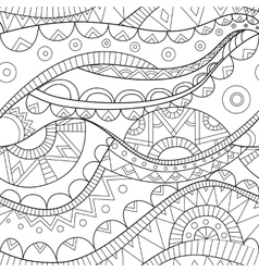 Ethnic boho seamless pattern vector