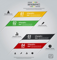 infographics design 2 vector image