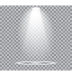 Spotlights Scene vector image vector image