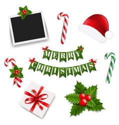 xmas big collection vector image