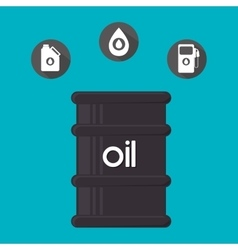 Oil and petroleum price design vector