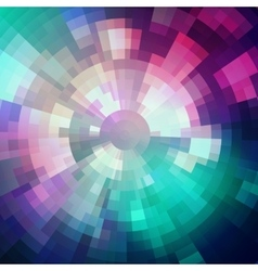 Abstract background made of shiny mosaic pattern vector image vector image
