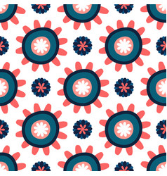 Bright seamless pattern texture for printing on vector