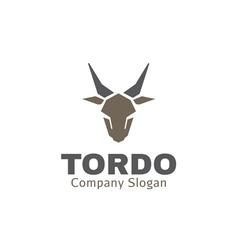 Tordo Design vector image