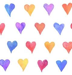 watercolor pattern vector image vector image