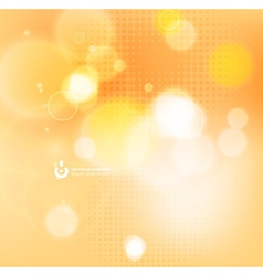 Abstract background with sunlight glow vector