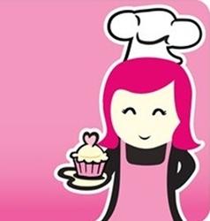 Bakery chef cartoon vector